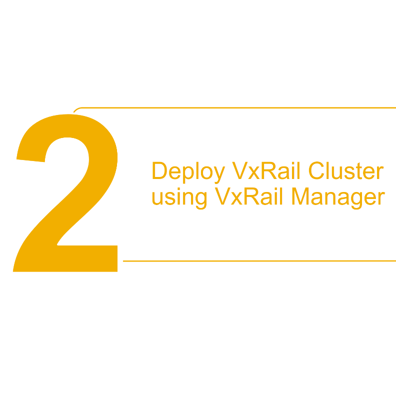 How to deploy SmartFabric for VxRail Step 2