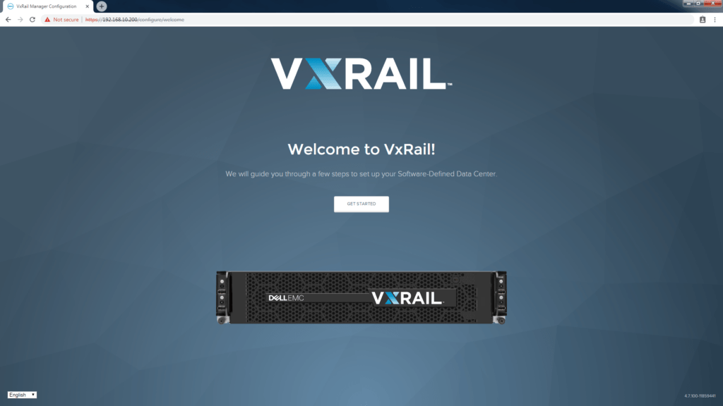 VxRail Manager GUI install
