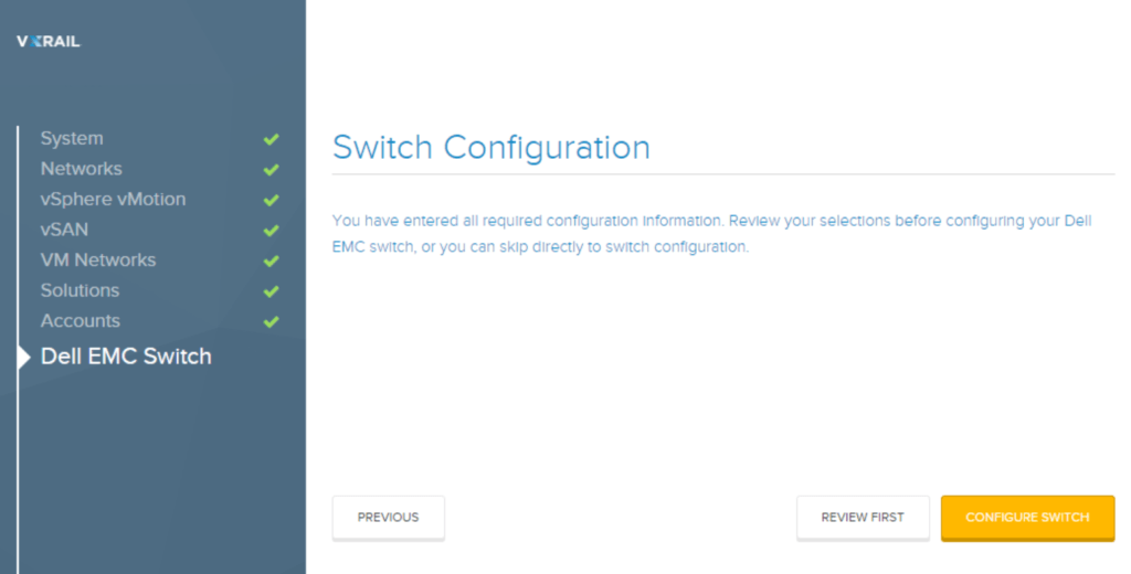 SmartFabric switch automation