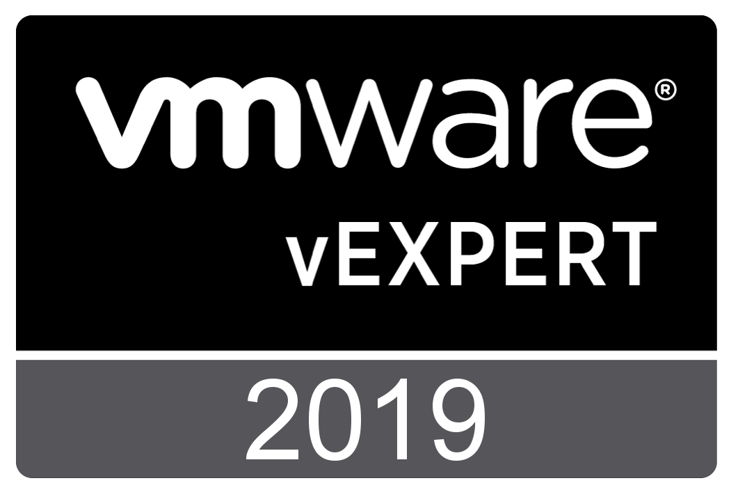 VMware vExpert 2019. Thank You to my vCommunity