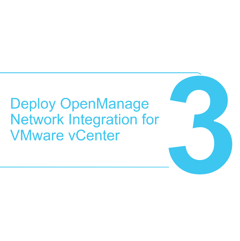 How to deploy the SmartFabric OMNI plugin in VMware vSphere Step 3