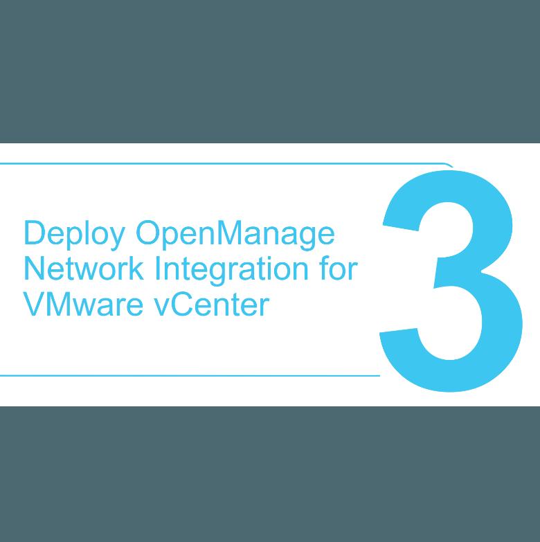 How to deploy the SmartFabric OMNI plugin in VMware vSphere Step 3