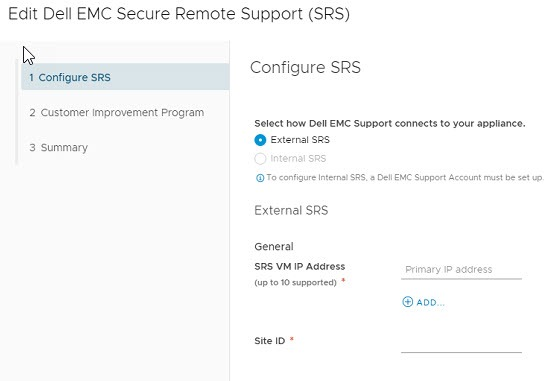 Dell EMC Secure Remote Support SRS